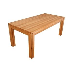 masívny stôl – celomasív, rozťahovací - materiál – buk čistý, buk jadro, dub - morenie podľa vzorkovnice - povrchová úprava : lak, lak-vosk, olej