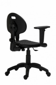 pracovná stoličky 1290 so základnou mechanikou s kĺbovým spojením.