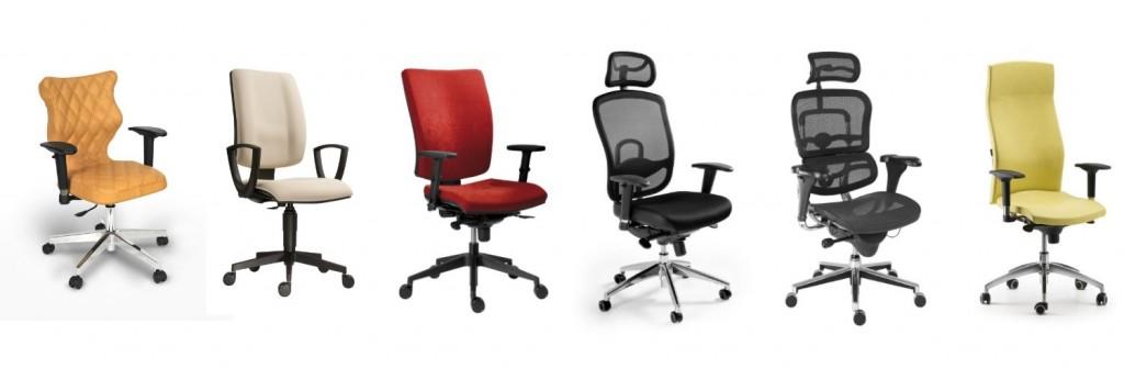 stoličky a kreslá s rôznymi operadlami